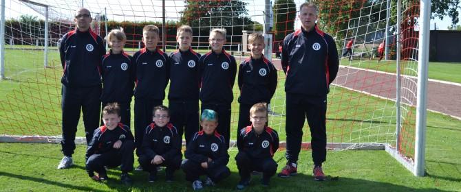 Mannschaftsfoto Fußball E1-Jugend