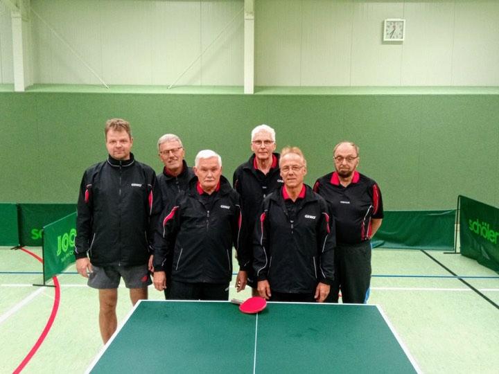 v.l.n.r: Martin Bremer, Walter Sengstock, Harald Balz, Horst Lotter, Reinhard Natzel, Dr. Roger Heine